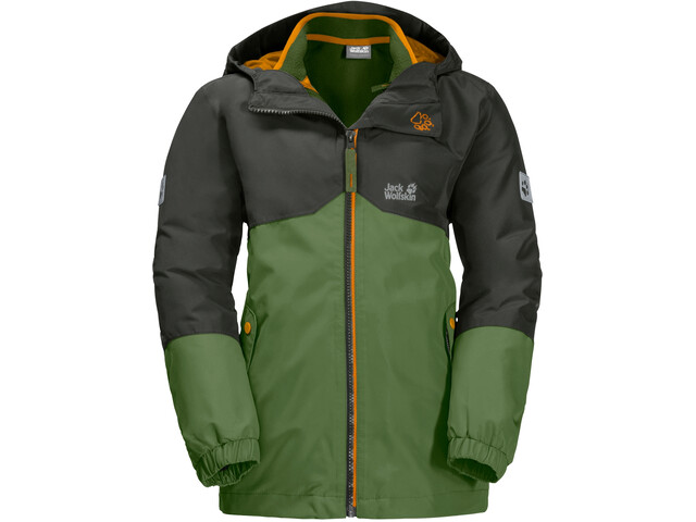 Jack Wolfskin B Iceland 3in1 Jacket Kinder antique green